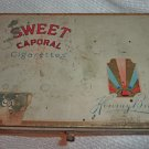 Sweet Caporal Kinney Bros cigarette vintage tin 1940s