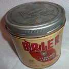Vintage Brier Tobacco Can WC MacDonald