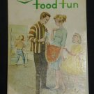 CO-OP Food Fun - 1963 Recipe Book from Saskatoon, Saskatchewan.