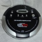 Durabrand Virtual Skip Free CD Player with Case and Earphones DDM454