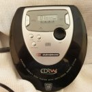 Durabrand CDRW Model DDM452 Portable CD Player with Koss Earphones