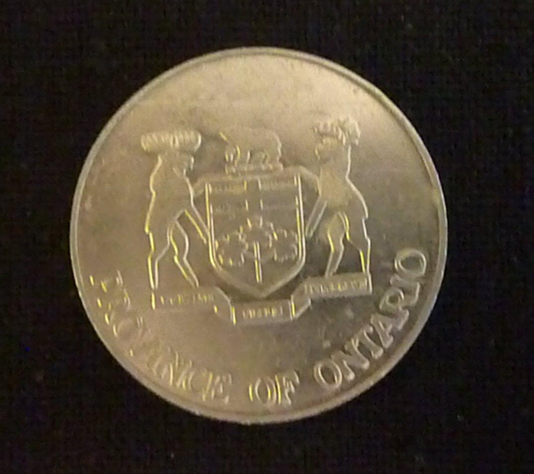 1952 - 1977 QUEEN ELIZABETH SILVER JUBILEE COIN