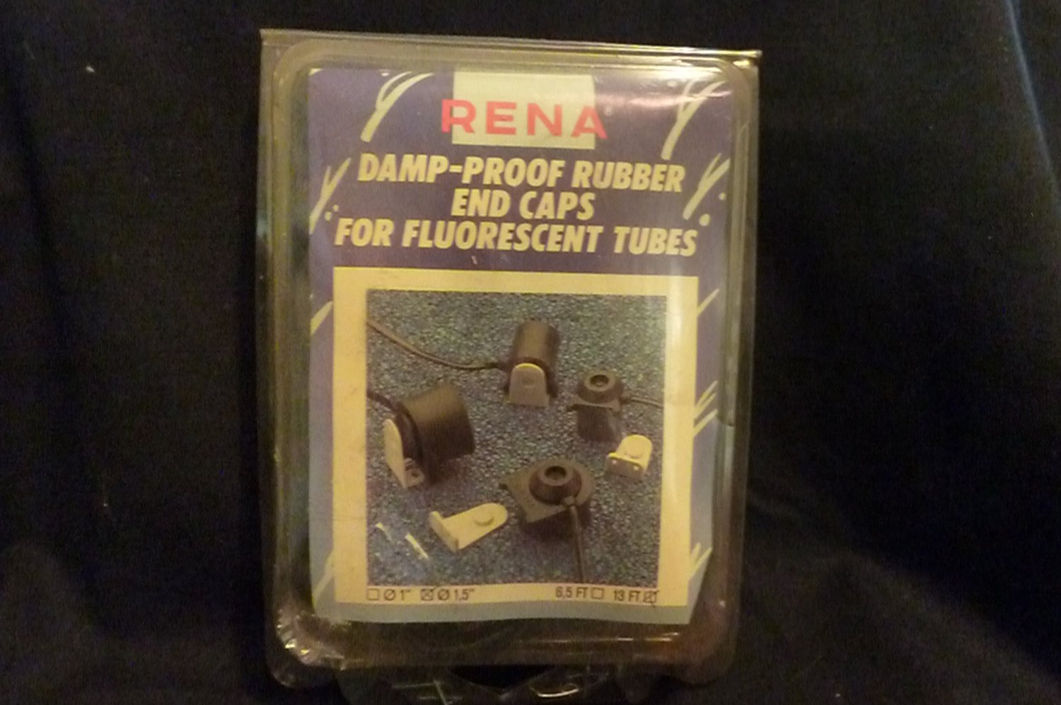 Rena Damp-Proof Rubber End Caps for Fluorescent Bulbs