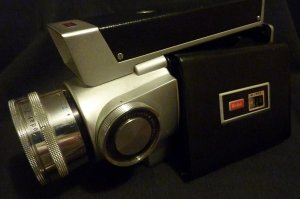 Vintage Kodak Zoom Wide Angle Zoom 8 Reflex Movie Camera Model 2