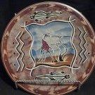 Kenyan (Tisi) hand painted Giraffe dish