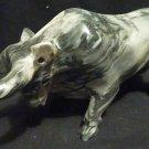 "Beautiful Bull Figurine carved in Onyx 9 1/4"" long x 4 5/8"" high"