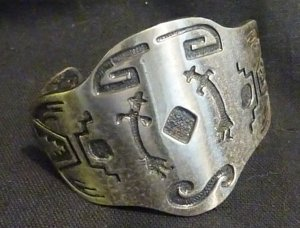 Okanagan? First Nations Bracelet - Heavy Metal