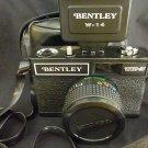 Vintage Bentley WX-3 35mm Camera / W-14 Flash Combo