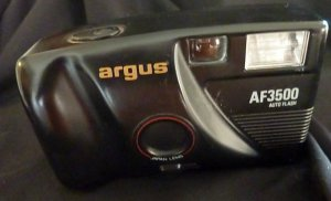 Argus AF3500 Auto Flash Point & Shoot Camera