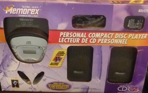 Memorex Personal Compact Disc Player & Car Kit Brand New in Box