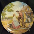 "Knowles Collector Plate ""Oh, What a Beautiful Mornin'"" Mort Kunstler (Oklahoma)"