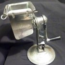 Vintage SALAD KING Food Processor vegetable cutter shredder slicer w/ 4CONES