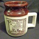 Abenakis Hand Crafted &#39;Montreal Scale and Pail Factory&#39; Mug
