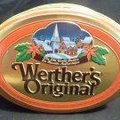 Werther's Original Canister Christmas Scene with Santa ((Empty)
