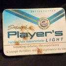 Vintage Player's Light 'flat pak' 25's Tobacco Tin