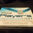 Player's Light 'flat pak' 25's Tobacco Tin