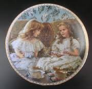 Bradex Collectors Plate Best Friends Sugar And Spice Recco 1993