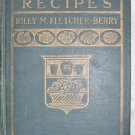 Fruit Recipes 1923 Riley M. Fletcher-Berry