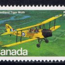 CANADA FDC 1981 DEHAVILLAND TIGER MOTH