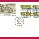 1982 Canada 30c  FDC  ROWING COMPETITION
