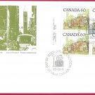 1982 Canada 60c OFDC # 723c ULpb Street Definitives