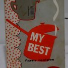 My Best Farm Recipes 1958 New Holland Machine Company
