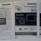 Panasonic Lumix DMC FX01 Original Operating Instruction English and Spanish