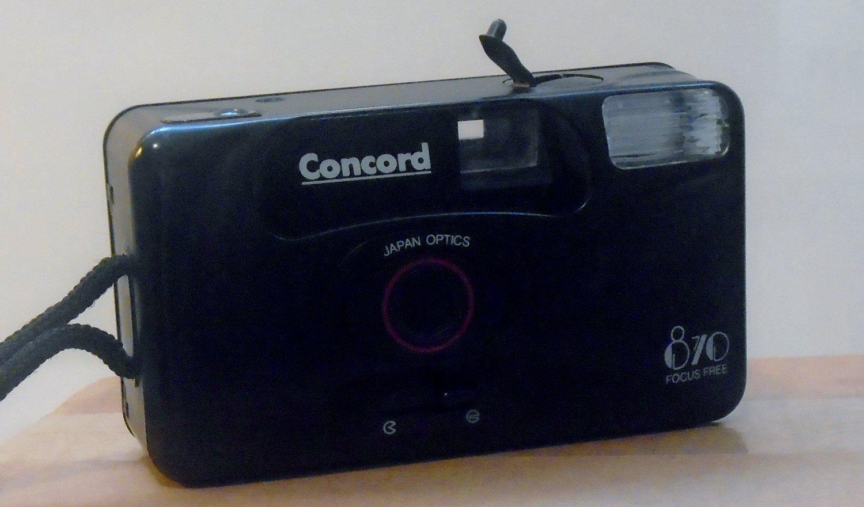 Concord 870 focus free camera
