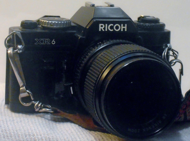 Ricoh XR6 Camera, 50mm Rikenon 1:2 Prime Lens