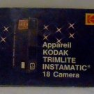 Kodak Trimlite Instamatic 18 Manual - English/French