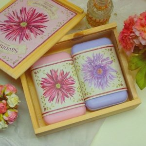 Cottage chic, French Soap set...