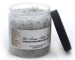 Exfoliating Dead Sea Salt Mineral Scrub - 12 oz