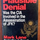 Plausible Denial by Mark Lane