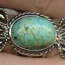 Oval Turquoise with rope frame ring