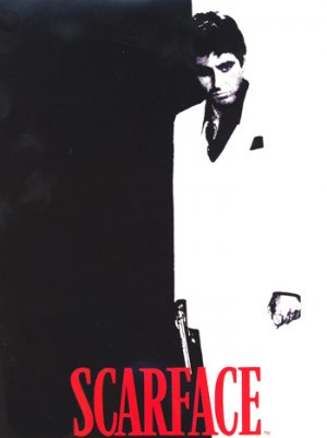 SCARFACE COMFORTER KING SIZE