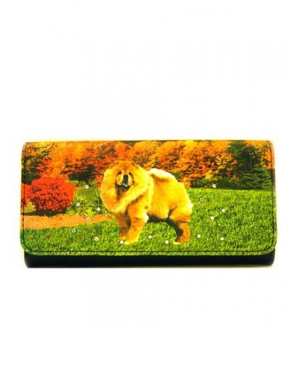 Chow Chow Large Wallet