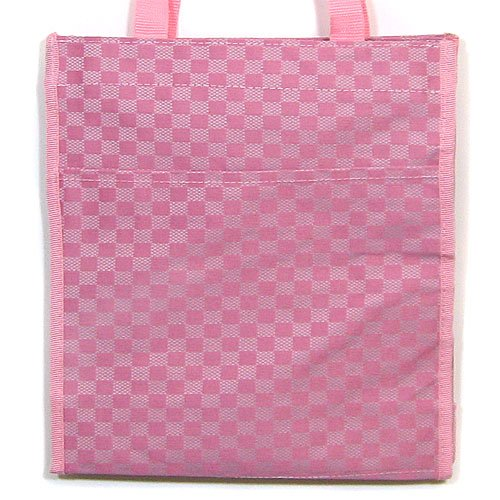 Pink & Fushia Checker Tote Purse