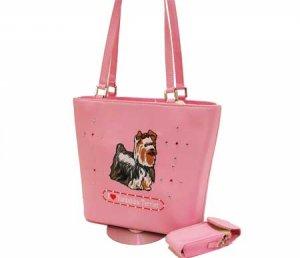 Yorkshire Terrier  Picture Purse Handbag Pocketbook