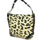Cheetah Designed Leather look HANDBAG