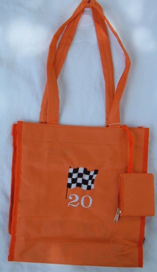 Orange Racing TOTE  Purse
