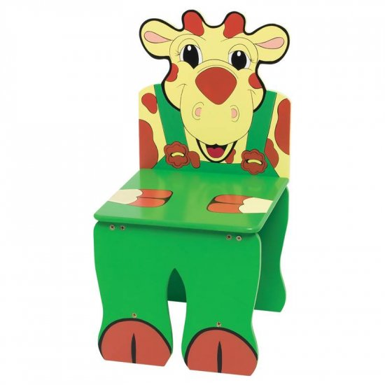 WYNDHAM HOUSE HAND PAINTED CHILDRENS GIRAFFE CHAIR
