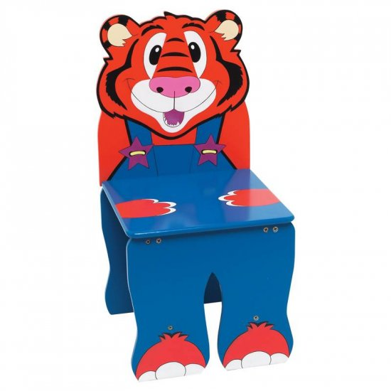 WYNDHAM HOUSE HAND PAINTED CHILDRENS TIGER CHAIR