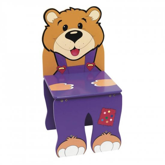 WYNDHAM HOUSE HAND PAINTED CHILDRENS BEAR CHAIR