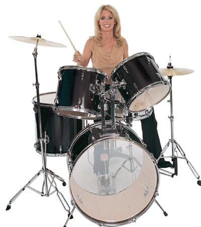 11pc Drum Set