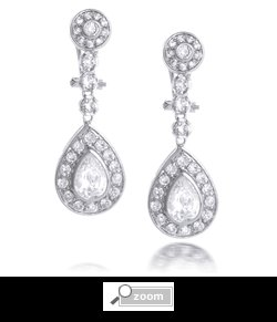 Celebrity Teardrop Chandelier Earring