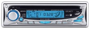 LEGACY LCD18M AM/FM CD/MP3 Player w/Detachable Panel