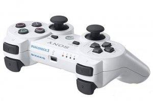 PS3 DualShock 3 Wireless Controller (White) (Japan Version)
