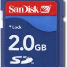 SanDisk - 2GB Secure Digital Memory Card for Nintendo Wii