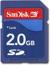SanDisk - 2GB Secure Digital Memory Card for Nintendo Wii