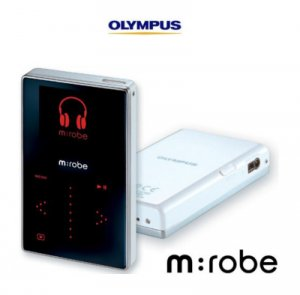 Olympus M Robe MR -100 Digital Music Player  With 5 GB Storage Drive